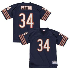 Walter Payton 1985 Chicago Bears Mitchell & Ness Home Navy Legacy Jersey Men's