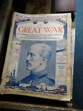 More details for original the great war magazines vol 1-32/49-64/101-151 (under £1each)