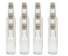 24 x Feinkost Glasflaschen 150ml + Korken - Sirup Soßen Essig Geschenk idee