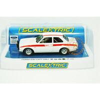 NEW Scalextric Ford Escort MkI Mexico 50th Anniv. 1/32 Slot Car FREE US SHIP