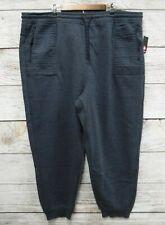 Airwalk Jogger Pants Mens Size 3X Blue Heather Fleece Zip Pocket New b0dbb7b1a5d5