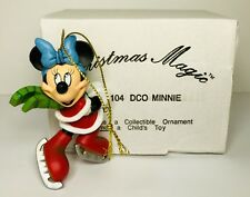 DISNEY Christmas Magic MINNIE MOUSE Grolier Collectible Ornament #104 DCO