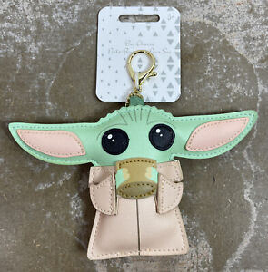 Disney Parks Star Wars The Child Backpack Bag Purse Charm NWT