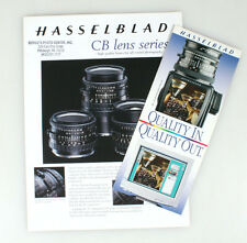HASSELBLAD LITERATURE ON CB LENS AND QUALITY