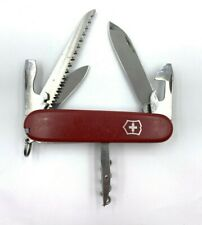 Victorinox Camper Swiss Army Pocketknife Red Scales