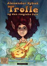 Buch + Hörbuch + CD ALEXANDER RYBAK - Trolle Og Den Magiske Fela norwegisch NEU