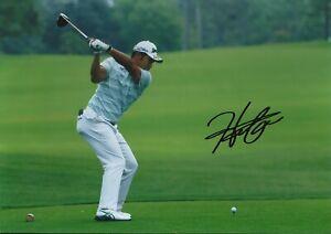 Hideki Matsuyama Autographed signed photo