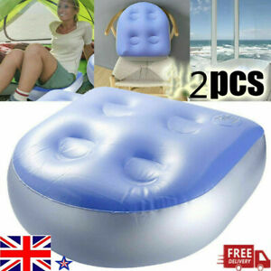 NEW 2Pcs Spa Booster Seat Inflatable Spa Cushion Hot Tubs Accessories Adult Kid