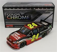 JEFF GORDON #24 DRIVE TO END HUNGER COLOR CHROME 1/24 DIECAST CAR