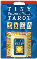 TINY UNIVERSAL WAITE TAROT CARDS DECK DIVINATION FORTUNE TELLING KEY CHAIN
