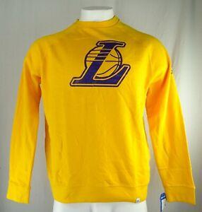 Los Angeles Lakers NBA Majestic Men's Crew Neck Sweatshirt