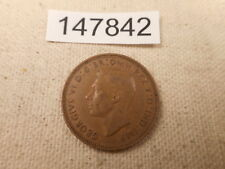 1943 Great Britain Half Penny Nice Unslabbed Collector Album Coin - # 147842