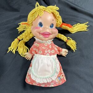 Vintage!!Mattel 1969 MYRTLE hand puppet, From My 3 Sons TV show!!