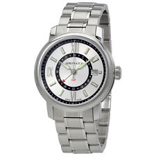 Aerowatch Renaissance Silver Dial Mens Stainless Steel Watch A 44937 AA09 M
