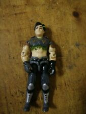 GI Joe arme un bateau Dreadnok Ripper v3 Sac à dos original 2003 Figure accessoire