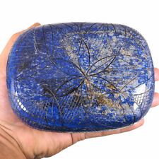 8698 Cts Certified Untreated Natural Lapis Lazuli Stunning Huge Carved Gemstone