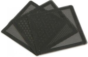 3 x Pack of Gelid Magnet Mesh 140 Fan Dust Filters for 140mm fans and vents