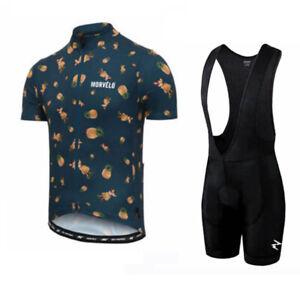 2021 Mens Cycling Jerseys Bib Shorts Sets Cycling Clothing Short Sleeve Outfits