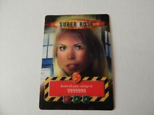 Rare Doctor Dr Who Battles In Time Super Rose Golden Trade Card 2006 Billy Piper