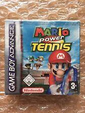 NUOVI DI FABBRICA SIGILLATA Mario POWER TENNIS per NINTENDO GAMEBOY ADVANCE