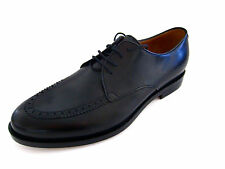 Gucci Mens Betis Matt Leather Oxfords Shoes 7 G 8 US Made in Italy