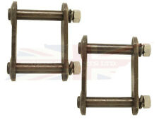 Rear Axle Leaf Spring Shackle Plate Kit MGB MGA Good Quality Price for a Pair
