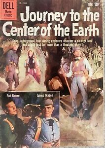 Four Color #1060 (Series 2) Dell Nov 1959 Journey to the Center of the Earth