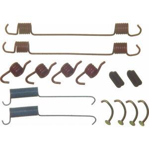 Drum Brake Hardware Kit Rear,Front Wagner H7146