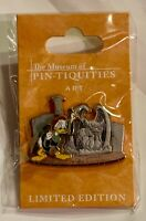 Museum Of Pin-tiquities Donald Duck Chiseling Chernabog Sculpture Disney LE Pin