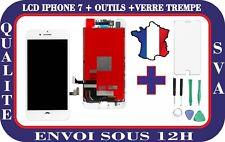 ECRAN LCD RETINA  POUR IPHONE 7 BLANC + OUTILS + VERRE TREMPE GARANTIE 3 MOIS