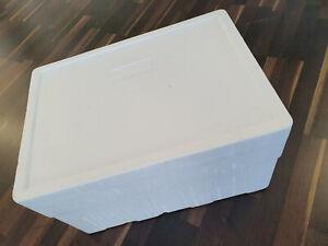 Isolierbox ca.50 Liter (53 x 36 x 27) Innenmaß cm Kühlbox Styroporbox Campingbox