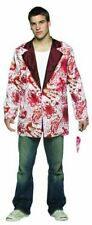 Rasta Imposta Bloody Blazer Halloween Costume White Jacket With Blood Splattered