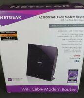 Netgear C6250-100Nas Ac1600 (16X4) Wifi Cable Modem Router Combo (C6250) Docsis
