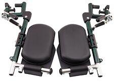 MLE Elevating Legrest Pair to Suit Deluxe Aluminum Wheelchair