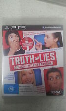 truth or lies ps3 new