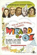 Wizard of Oz Movie Poster - A3 Home Cinema Bedroom Kids Wall Decor