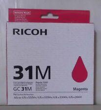 RICOH Cartuccia di stampa GC 31m MAGENTA AFICIO GX e 5550n 7700n 3350n 3300n 405690