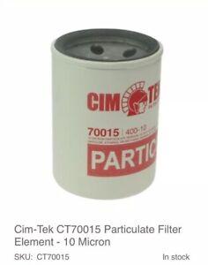 9x Cim-Tek CT70015 FUEL Particulate Filter FILLING PUMP PETROL STATION 10 Micron