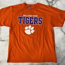 Clemson We Are The Tigers Orange Short Sleeve T-Shirt Large NCAA