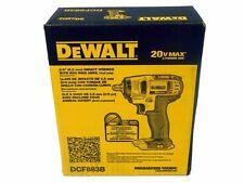 "Dewalt DCF883B 3/8"" 20V 20 Volt Max Impact Wrench Hog Ring Anvil NEW in box"