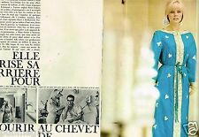 D- Coupure de Presse Clipping 1964 (4 pages) Britt Eklund