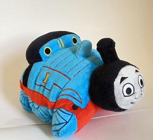 "2011 Thomas the Train Pillow Pet Soft Plush 12"" Stuffed Doll Thomas And Friends"