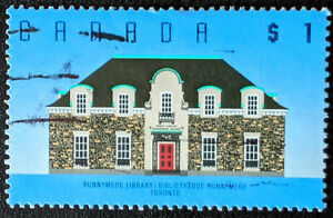 Stamp Canada SG1277 1989 $1 Runnymede Library Used