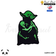 STAR WARS Yoda Naster Embroidered Iron On Sew On Patch Badge For Clothes etc
