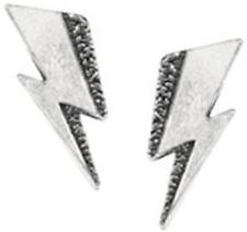 David Bowie Flash Stud Earrings - Alchemy Gothic Rocks Jewellery Pe8