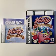 Kirby & the Amazing Mirror BOX AND MANUAL ONLY (Nintendo Game Boy Advance, 2004)