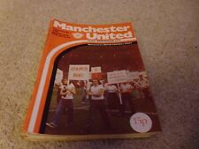 Manchester United 1978 - 1979 League and Cup Programmes x 16 Copies
