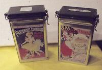 2 ancienne boîte illustration Pantomimes Lumineuse,SPA Ferme de FRAHINFAZ