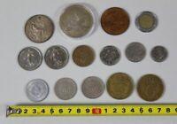 A5/ 15 ältere Münzen/Medaillen France,DDR,Dänemark,Italien,Liberia ab 1926 /S350