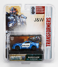 Jada Barricade Custom Police Transformers 1/64 14032-W1H